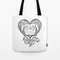wedding Tote Bags featuring Wedding by Jo Falcon-Cross