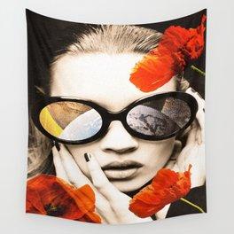 poppy pop (kate Moss) Wall Tapestry