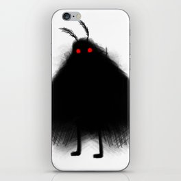 Your Fellow Friendly Cryptid: Mothman iPhone Skin