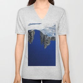 land, sea and her Unisex V-Neck