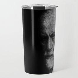 Sigmund Freud quote Travel Mug