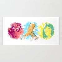 snsd Art Prints featuring SNSD(Girls' Generation) - Seohyun by Noir0083