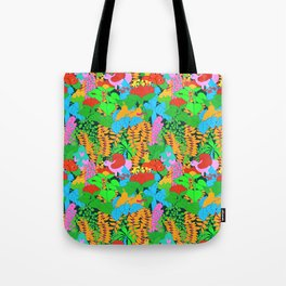 Jungle Groove Tote Bag