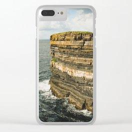 Dun Briste Clear iPhone Case