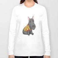 rasta Long Sleeve T-shirts featuring Rasta Scottie by Lisidza's art