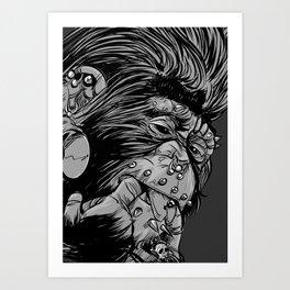PNKMNKY Art Print