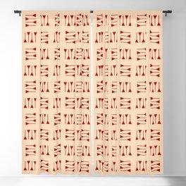 cuneiform 1 ceramic colors Blackout Curtain