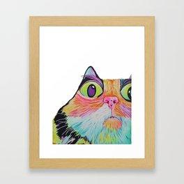 cat nip trip Framed Art Print