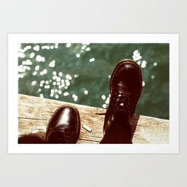 the places we'll go... Art Print