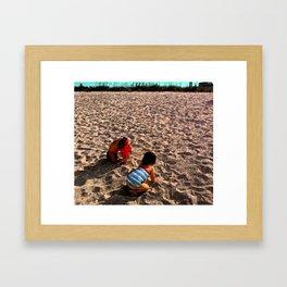 Marky Leili Framed Art Print