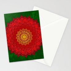 okshirahm rose mandala Stationery Cards