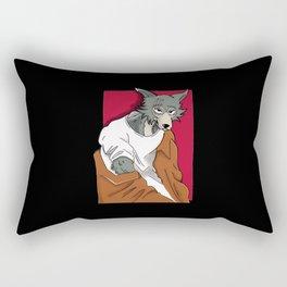 The Wolf's Beast Rectangular Pillow