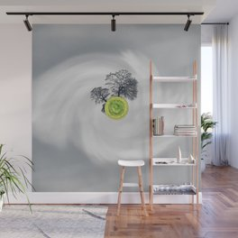 The Whirled Wall Mural