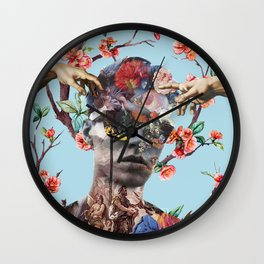 Blow Your Mind Wall Clock