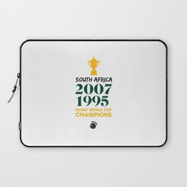 Rugby World Cup Champions — South Africa Rugby Union side (Springboks) Laptop Sleeve