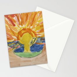 Munch by Agnes 2 Stationery Cards