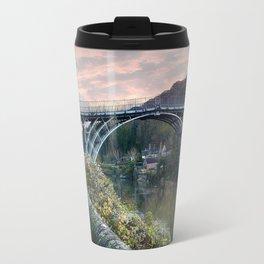 The Bridge across the Severn Gorge Travel Mug