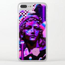 Rise Clear iPhone Case