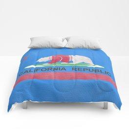 Polar Bear In California Comforters