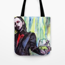 MaNsinthe, portrait of M.M. made by Ines Zgonc Tote Bag