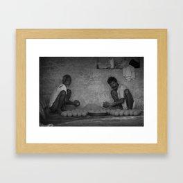 Laddu Framed Art Print