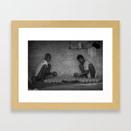 Laddu Framed Art Print
