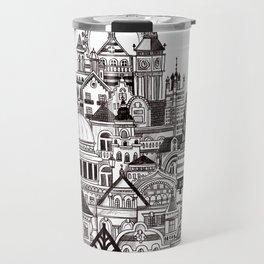 London pencil lines Travel Mug