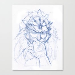 Your Highness - Sketch Canvas Print