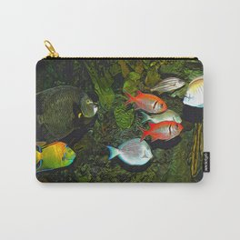 At the Aquarium Carry-All Pouch