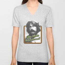 One 'stache to rule them all Unisex V-Neck