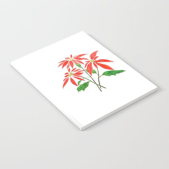 christmas flower Notebook