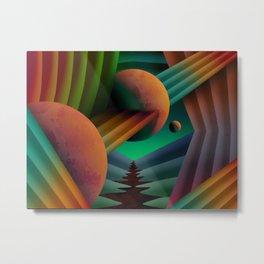 Planet Path Metal Print