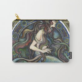"""Under the Sea - A Mermaid"", by Fanitsa Petrou Carry-All Pouch"