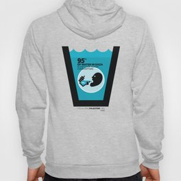 Gaza Water: Confined & Contaminated Hoody