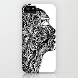 Emerging Face iPhone Case