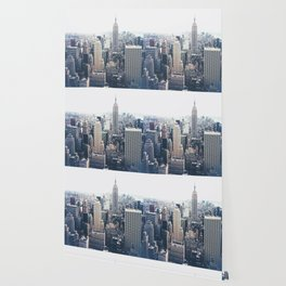New York City and the Empire State Building Wallpaper