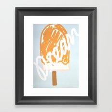 dreamsicle Framed Art Print