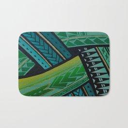 Green Tatau Bath Mat