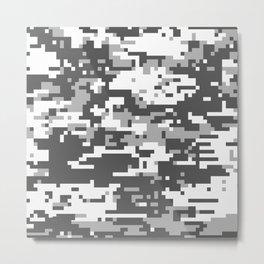 Camouflage Digital Art5 Metal Print