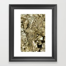 A Golden Fool Framed Art Print