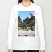 german Long Sleeve T-shirts featuring German coast by anru