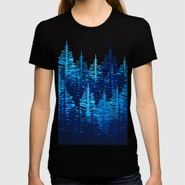 Pine Forest - Blue Light T-shirt