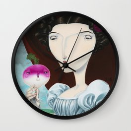 Lady Mary Turnipton Wall Clock