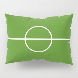 Football field fun design soccer field Pillow Sham