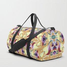 Leaf pattern 2d Duffle Bag