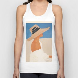 Summer Hat Unisex Tank Top