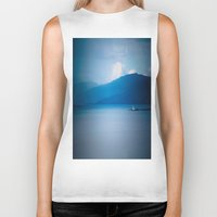lighthouse Biker Tanks featuring Lighthouse  by Alyson Cornman Photography