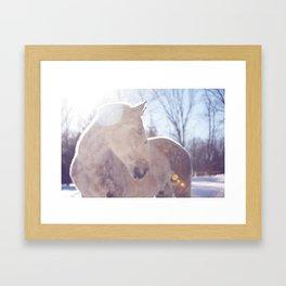 Mighty Fine Regis Framed Art Print