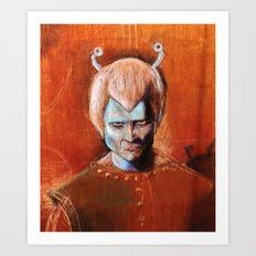 Angry Andorian Art Print