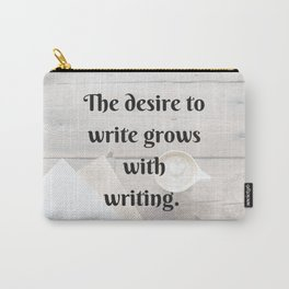 Erasmus Quote Carry-All Pouch